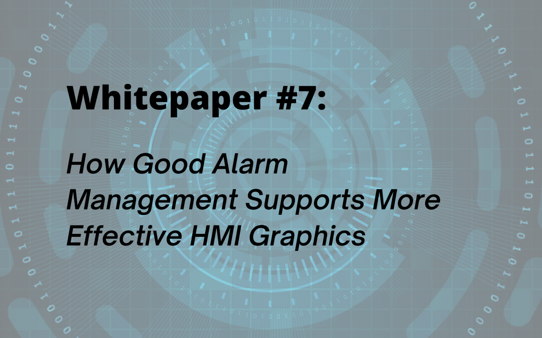 How Good Alarm Management Supports More Effective HMI Graphics