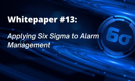 Applying Six Sigma to Alarm Management